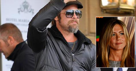 Brad Pitt weint sich bei Ex-Frau Jennifer Aniston aus