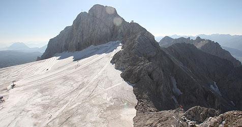 Oberösterreicher stürzt am Dachstein 150 Meter ab (Bild: Jürgen Radspieler)