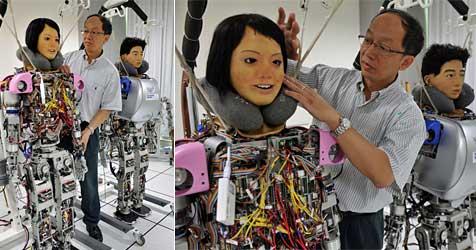 Forscher planen Robo-Repliken von Tieren und Promis (Bild: AFP)