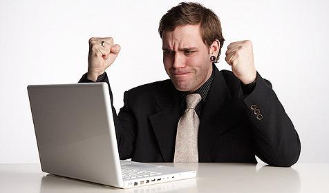 Wenn der Onlineshop schweigt ... (Bild: © [2009] JupiterImages Corporation)