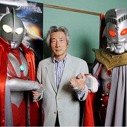 Ehemaliger Premier Japans vertont Alien-Film (Bild: AFP)