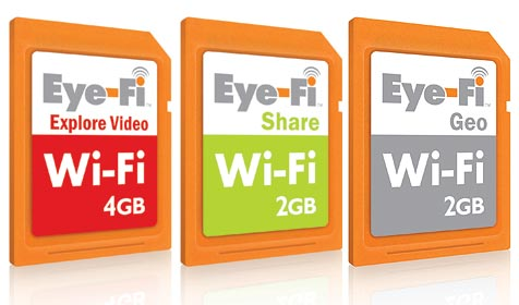 Eye-Fi: SD-Karten mit integrierter WLAN-Funktion (Bild: Eye-Fi)