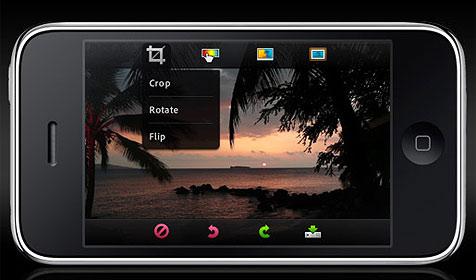 Fotobearbeitung am iPhone von Adobe (Bild: Adobe)