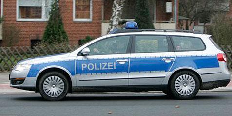 Lustschreie riefen deutsche Polizei auf den Plan