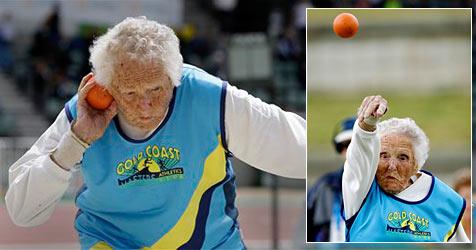100-jährige Australierin gewinnt Dreifach-Gold