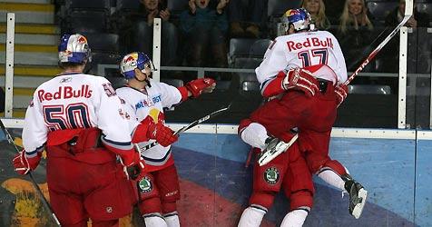 4:1 gegen VSV: Red Bulls feiern vierten Erfolg in Serie (Bild: Andreas Tröster)