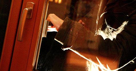 Einbrecher nutzen Dämmerung bei Coup in Hallein-Rif (Bild: APA/HELMUT FOHRINGER)