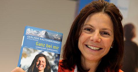 Kaltenbrunner will auf den Mt. Everest ++ Buch vorgestellt (Bild: APA/rubra)