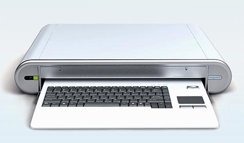 Tastatur desinfiziert sich nach Gebrauch von selbst (Bild: Vioguard.com)