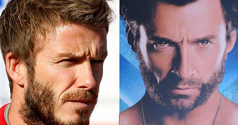 """David Beckham hat sich in """"Wolverine"""" verwandelt"""