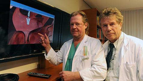 Linzer Ärzte führen neue Methode der Herz-OP durch (Bild: Chris Koller)
