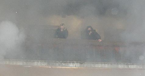 Lehrerinnen aus brennendem Gästehaus gerettet (Bild: FF Bad Ischl)