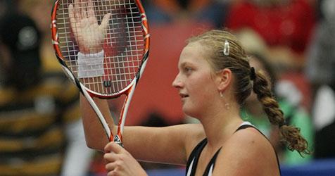 Petra Kvitova überraschend erste Linz-Finalistin (Bild: APA/Rubra)
