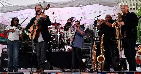 Dave Matthews Band im Februar 2010 in Wien