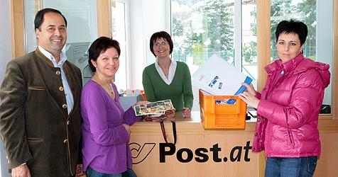 Gemeinde startet eigene Postfiliale beim Schwimmbad (Bild: Andreas Kreuzhuber)