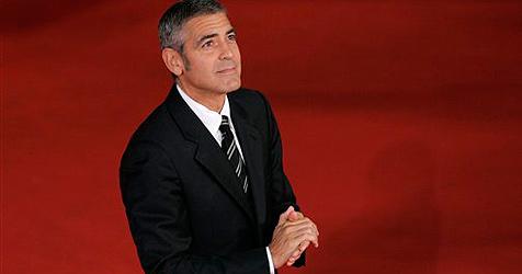 Auch ein Clooney leidet unter Liebeskummer