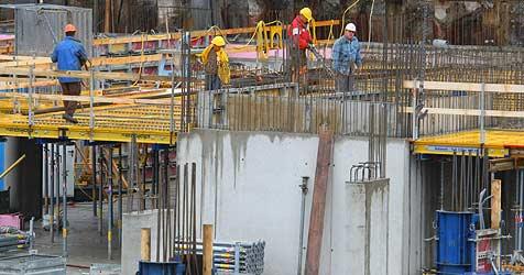 Bauwirtschaft bekommt Krise erst jetzt zu spüren (Bild: Christof Birbaumer)