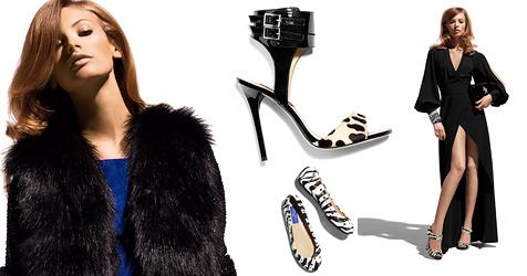 Luxus-Schuh-Label Jimmy Choo ab 14. November bei H&M (Bild: H&M)