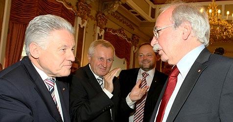 Landtag und Regierung am Freitag angelobt (Bild: APA/rubra)