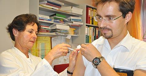 3.700 Mitarbeiter und nur 40 H1N1-Impfungen (Bild: privat)