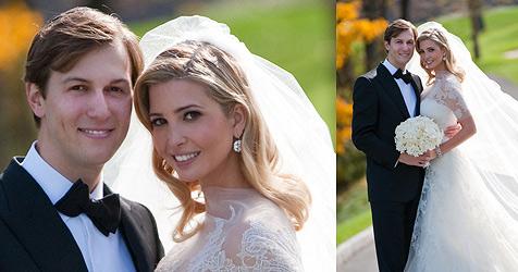 Trump-Tochter Ivanka heiratete Zeitungsverleger