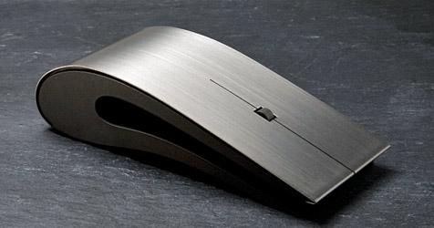 Nichts für Geizige: Die Maus mit Titangehäuse (Bild: Intelligent Design)