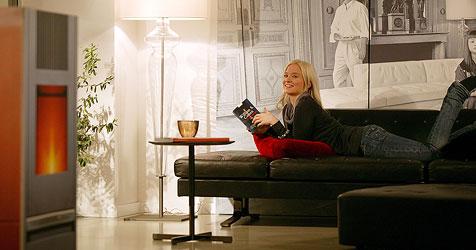 Pelletskaminöfen für das Wohnzimmer (Bild: www.propellets.at)