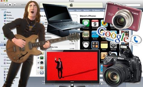 Die 100 besten Elektronik-Produkte des Jahres 2009