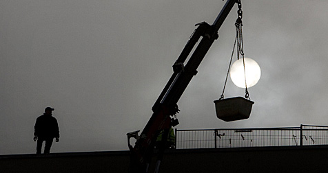 Bauarbeiten werden in Stadt Salzburg ab sofort versteigert (Bild: dpa/Z5456 Arno Burgi)