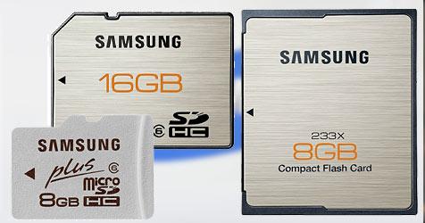 Samsung bringt wasserfeste Speicherkarten