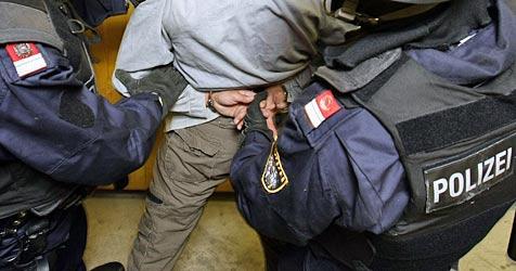 19-Jähriger verletzt im Rausch vier Polizisten (Bild: apa/Hans Klaus Techt)