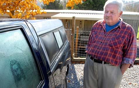 USA: Gottes Sohn zeigt sich auf einer Autoscheibe