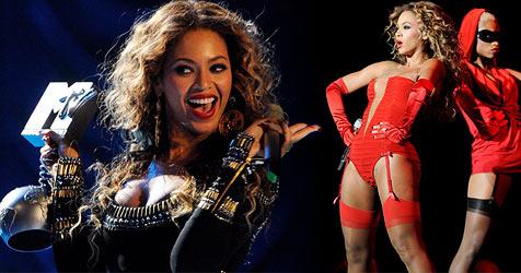 Beyoncé sahnt bei den EMAs in heißen Dessous ab