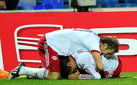 Red Bull bangt gegen Lazio um Schiemer und Janko (Bild: APA/Herbert Pfarrhofer)