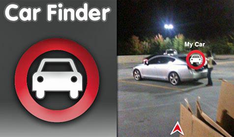 iPhone-App weist den Weg zum parkenden Pkw