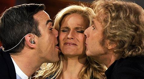 """Robbie Williams als """"Sahnehäubchen"""" des Stardefilees"""