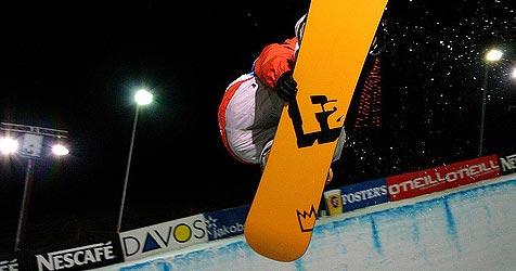 Snowboarder Gimpl gewinnt auch zweiten Big-Air-WC (Bild: privat)