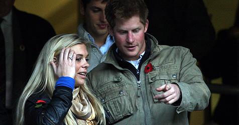 Prinz Harry zeigt sich wieder mit Chelsy Davy