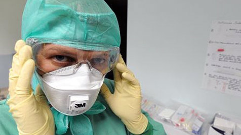 77-jähriger H1N1-Patient verstorben - aber nicht an Grippe (Bild: dpa/A3471 Boris Roessler)