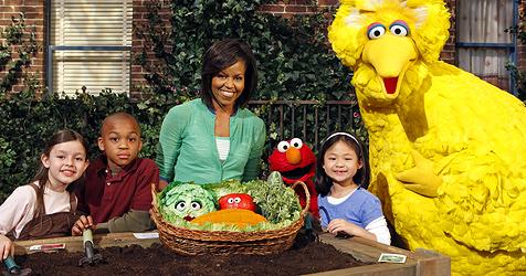 Michelle Obama macht bei US-Kindersendung mit