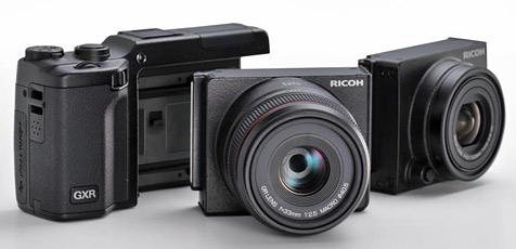 Ricoh präsentiert Digitalkamera im Baukastenprinzip (Bild: Ricoh)