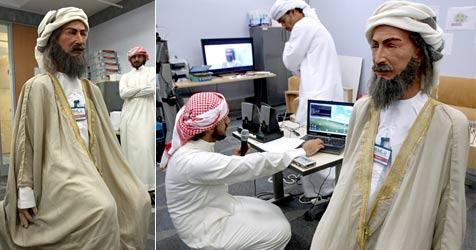 Erster Arabisch sprechender Roboter der Welt (Bild: AFP)