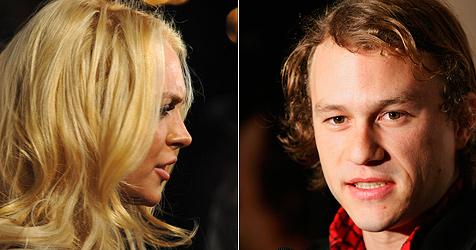 Lindsay Lohan angeblich Heath Ledgers letzte Liebe