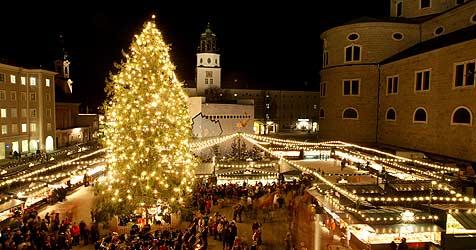 Salzburg weltweit viertschönster Weihnachts-Ort (Bild: Mike Vogl)