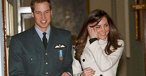 2012 führt Prinz William seine Kate zum Traualtar