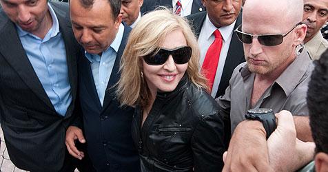 Madonna hat die Mutter ihres Lovers Jesus Luz getroffen