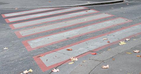 Fußgänger von Pkw niedergestoßen - Lenker rast davon (Bild: Andreas Graf)