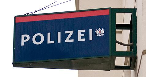 Sperrstock zersägt und Polizisten geschlagen (Bild: Andreas Graf)