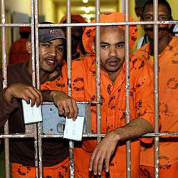 "Südafrika: Häftlinge kämpfen um Titel des ""Jail Stars"""