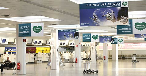 Streit um Steiermark-Werbung am Airport (Bild: Markus Tschepp)